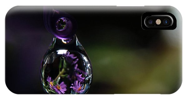 IPhone Case featuring the photograph Purple Dreams by Michelle Wermuth