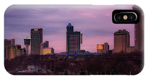 Purple Haze Skyline IPhone Case