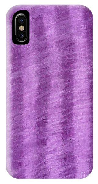 Purple Hazy Nights IPhone Case