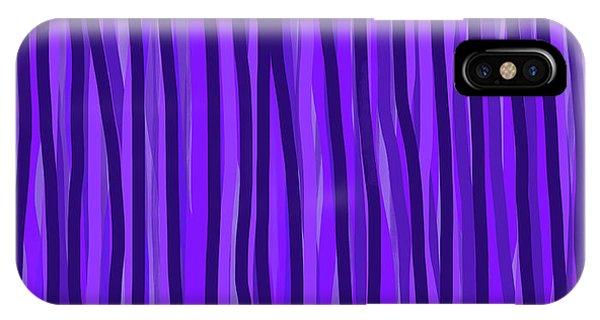 Purple Lines IPhone Case