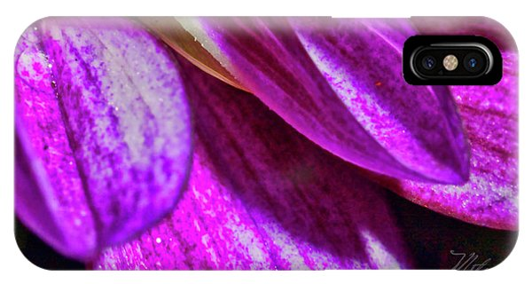 Purple Petals IPhone Case