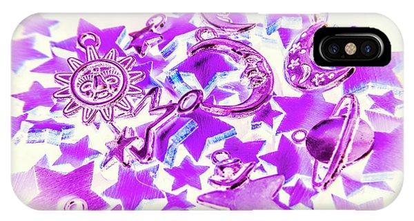 Astronomy iPhone Case - Purple Planetarium by Jorgo Photography - Wall Art Gallery
