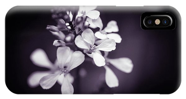 IPhone Case featuring the photograph Purple Tears by Michelle Wermuth