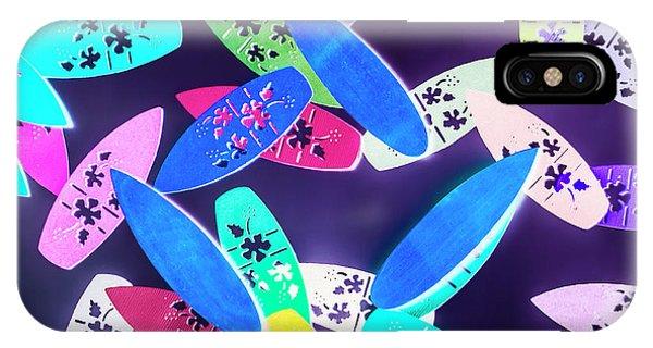 Surfboard iPhone Case - Purple Waters by Jorgo Photography - Wall Art Gallery