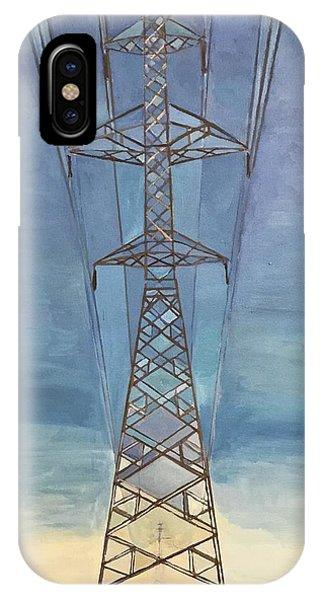 Pylon iPhone Case - Pylon by Norman Burnham