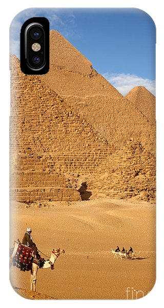 Egyptian iPhone X Case - Pyramid Egypt by Sculpies