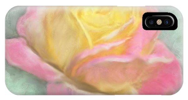 Queen Bella Rose -  I Care IPhone Case