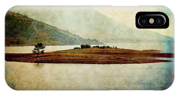 IPhone Case featuring the photograph Quiet Before The Storm by Milena Ilieva