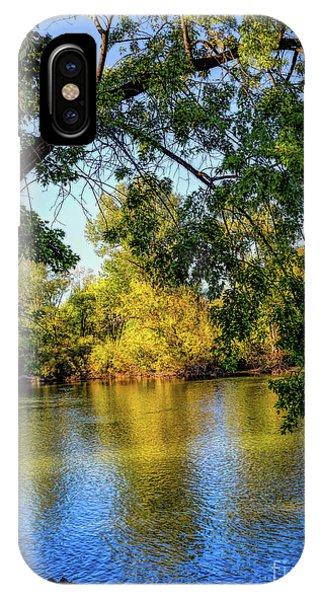 IPhone Case featuring the photograph Quite Idaho Evening On The Boise River by Jon Burch Photography