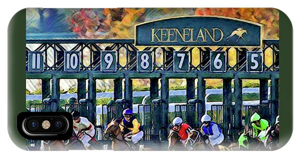 Fall Racing At Keeneland  IPhone Case