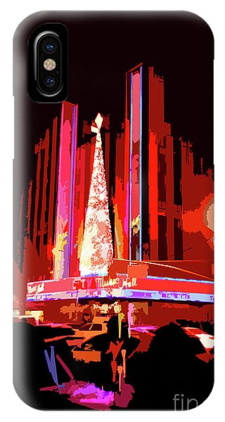 Rockettes iPhone Case - Radio City Music Hall Abstract by NAJE Foto - Nelly Rodriguez