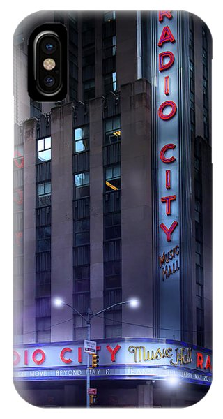 Rockettes iPhone Case - Radio City Music Hall by Mark Andrew Thomas