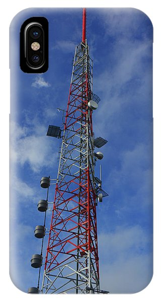 IPhone Case featuring the photograph Radio Tower On Mount Greylock by Raymond Salani III