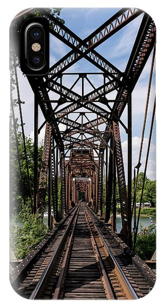 Railroad Bridge 6th Street Augusta Ga 1 IPhone Case
