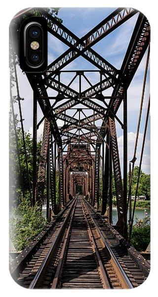 Railroad Bridge 6th Street Augusta Ga 1 IPhone Case