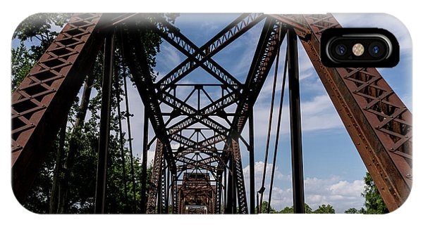 Railroad Bridge 6th Street Augusta Ga 2 IPhone Case