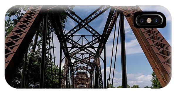 Railroad Bridge 6th Street Augusta Ga 2 IPhone Case