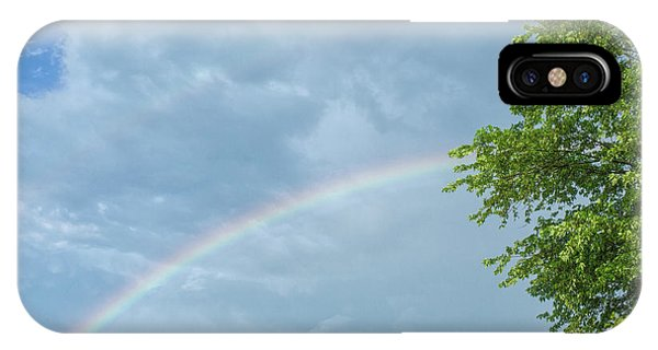 Rainbow And A Tree IPhone Case