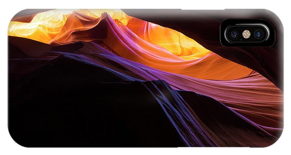 Canyon iPhone Case - Rainbow Canyon by Chad Dutson