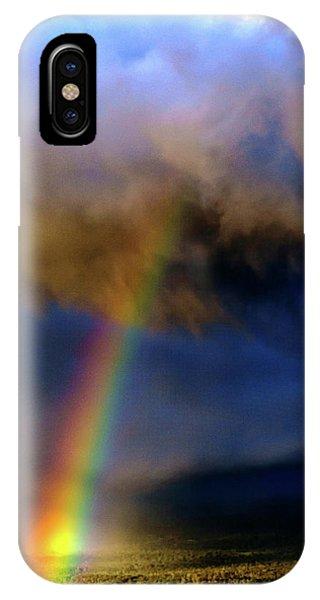 Rainbow During Sunset IPhone Case