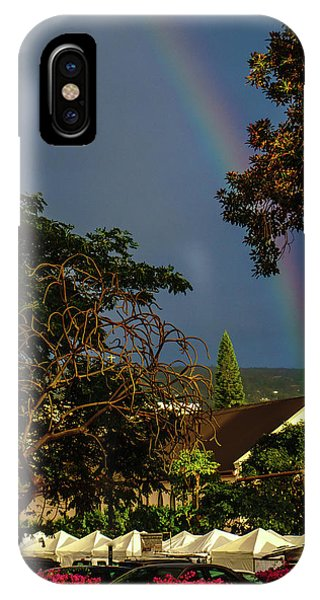 Rainbow Ended At The Church IPhone Case