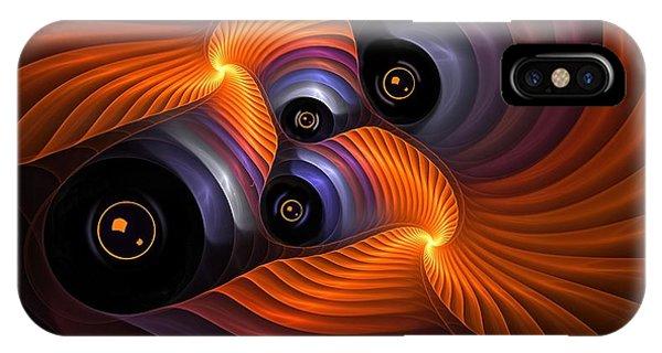 Rainbow Eyes IPhone Case