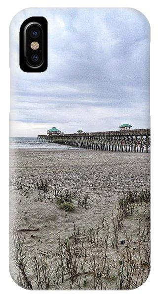 Rainy Beach Day IPhone Case