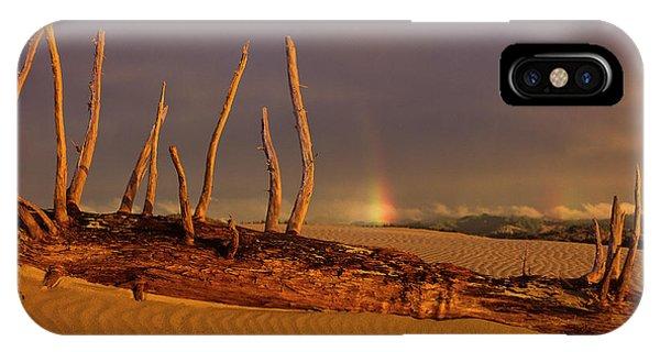 Rainy Day Dunes IPhone Case