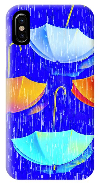 Left iPhone Case - Rainy Day Parade by Jorgo Photography - Wall Art Gallery