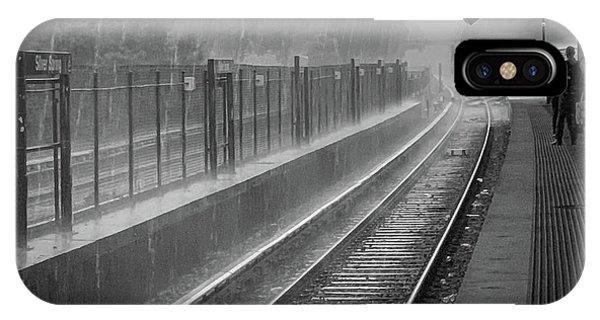 Rainy Days And Metro IPhone Case