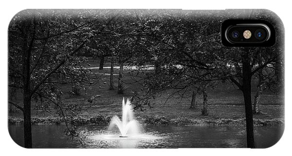 IPhone Case featuring the photograph Rainy Fall Monday by Edward Peterson