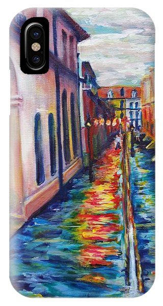 Rainy Pirate Alley IPhone Case