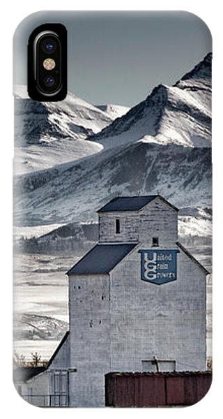 IPhone Case featuring the photograph Ranchland Elevator by Brad Allen Fine Art