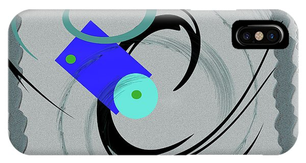 Randomness Variations 5, On Paper Montage IPhone Case