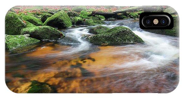 iPhone Case - Rapids On Jedlova Brook, Jizera Mountains,  Czech Republic by Michal Boubin