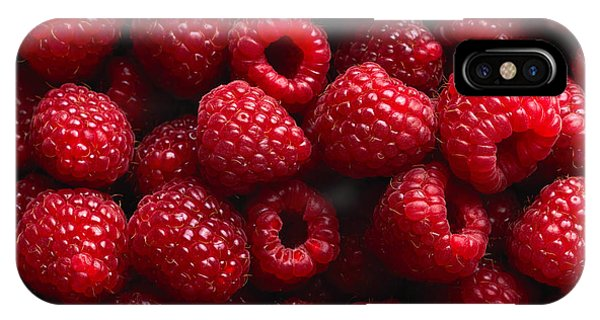Ripe iPhone Case - Raspberry Fruit Background by Sj Travel Photo And Video