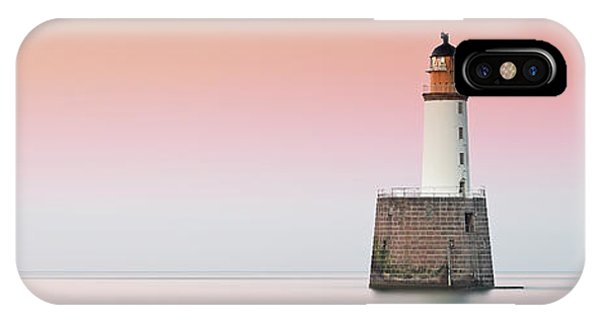 IPhone Case featuring the photograph Rattray Lighthouse Sunset- Scotland by Grant Glendinning