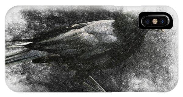 Raven iPhone Case - Raven by Zapista Zapista