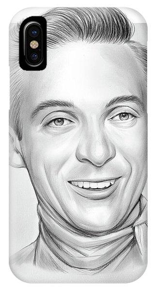 Graphite iPhone Case - Ray Price by Greg Joens