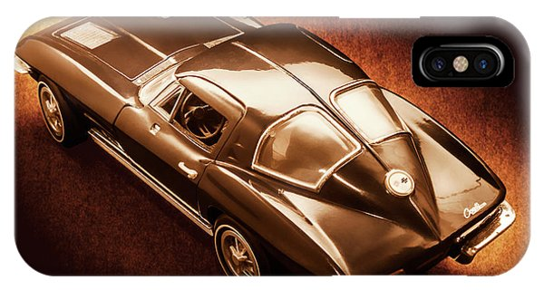 American Cars iPhone Case - Ray Tail by Jorgo Photography - Wall Art Gallery