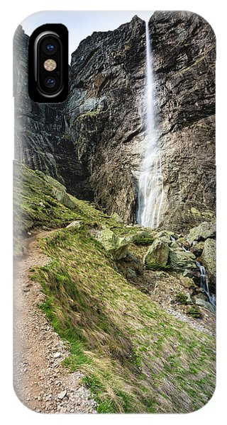 Raysko Praskalo Waterfall, Balkan Mountain IPhone Case
