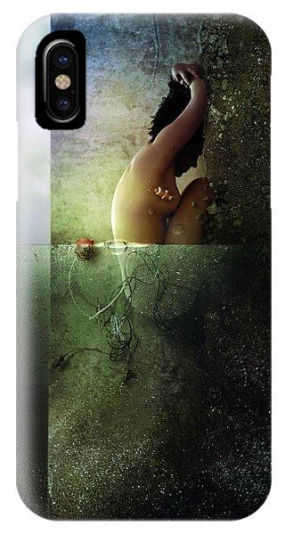 Crash iPhone X Case - Reality Clash by Mario Sanchez Nevado