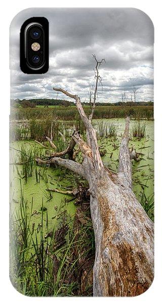 Horicon Marsh iPhone Case - Reclamation by Lauri Novak