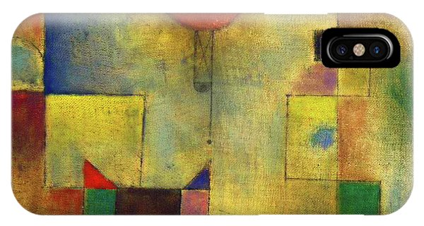 iPhone Case - Red Balloon - Roter Ballon, 1922 by Paul Klee