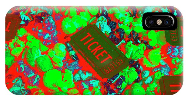 Movie iPhone Case - Red Hot Tickets by Jorgo Photography - Wall Art Gallery
