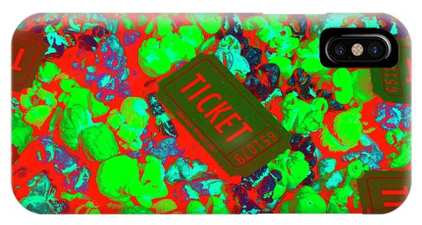 Fair iPhone Case - Red Hot Tickets by Jorgo Photography - Wall Art Gallery
