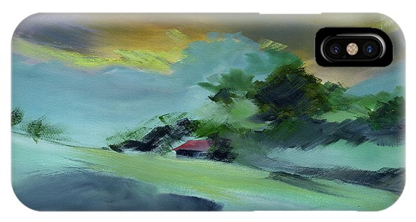Red House New IPhone Case