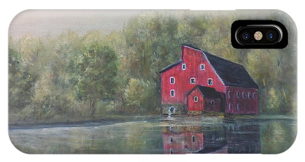 Red Mill Clinton New Jersey IPhone Case