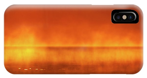 IPhone Case featuring the photograph Red Mist by Jeff Phillippi