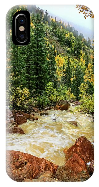 Red Mountain Creek In San Juan Mountains IPhone Case